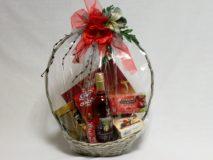 Darčekový kôš - Červený divý mak